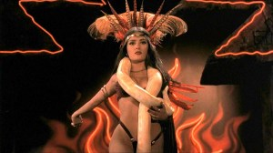 "Salma Hayek as ""Santanico Pandemonium"" in From Dusk Till Dawn"